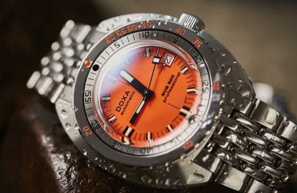 Doxa: Sub 300 COSC Professional in Orange