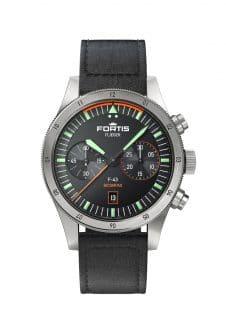Fortis: F43 Bicompax Lederband