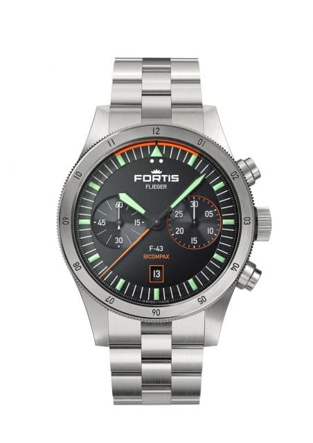 Fortis: F43 Bicompax Metallband