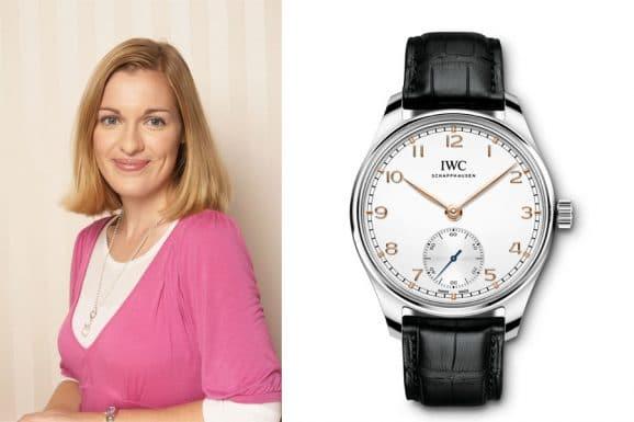 Katharina Studer, Redakteurin Watchtime.net, empfiehlt die IWC Portugieser Automatic 40