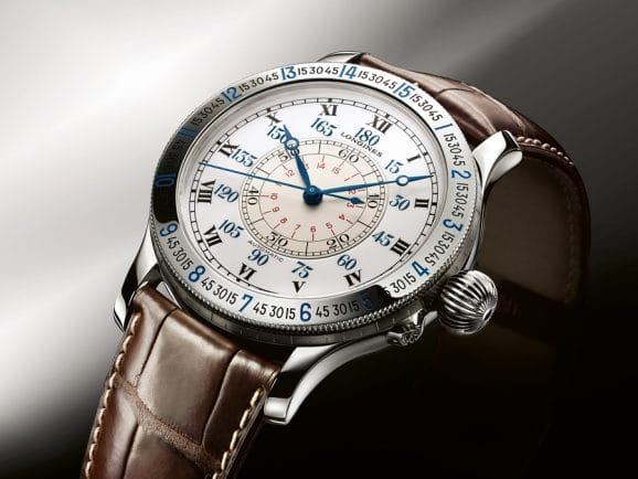 Longines Lindenbergh Hour Angle Watch