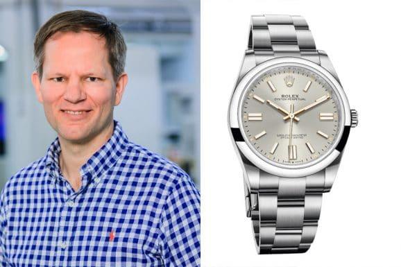 Der Favorit Chronos-Redakteur Jens Koch ist die Rolex Oyster Perpetual 41.