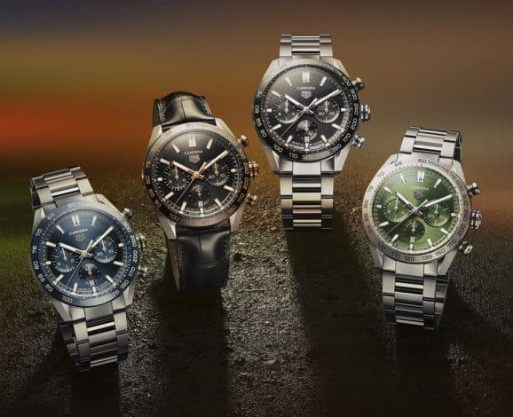 Den neuen TAG Heuer Carrera Sport Chronograph gibt es in 4 Varianten