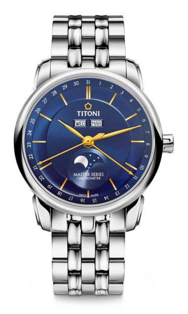 Titoni: Master Series Mondphase