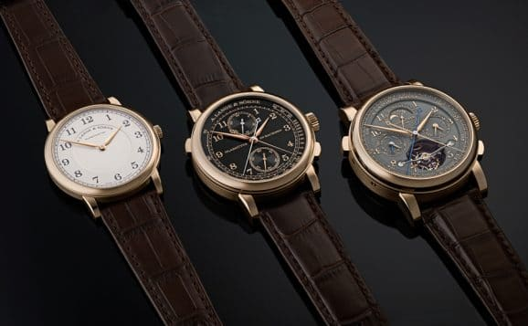 "A. Lange Söhne 1815 Thin Honeygold ""Homage to F. A. Lange"""