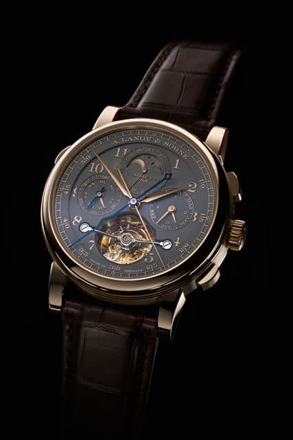 """A. Lange & Söhne: Tourbograph Perpetual Honeygold """"Homage to F. A. Lange"""""""