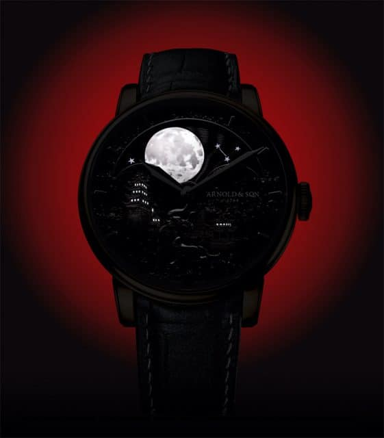 "Strahlender Mond bei Nacht: die Arnold & Son Perpetual Moon ""Year of the Ox"""