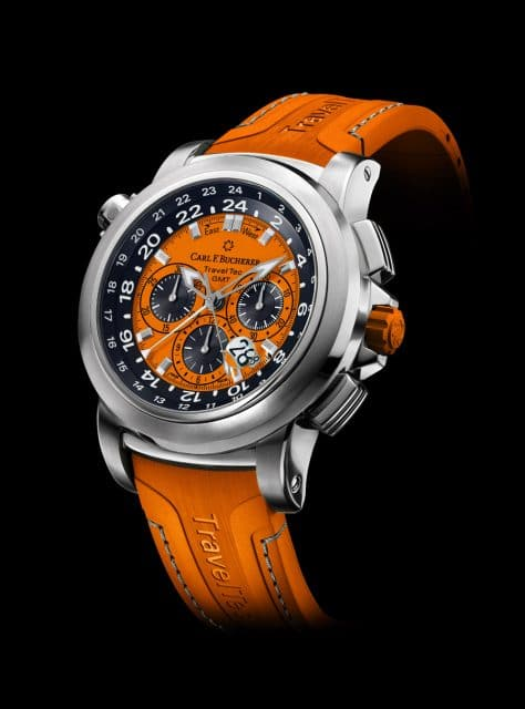 "Carl F. Bucherer: Patravi TravelTec Color Edition ""Four Seasons"" in Orange"
