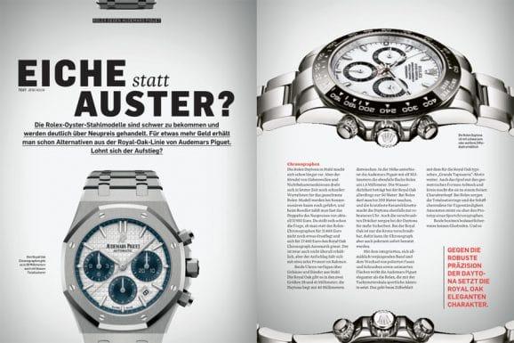 Rolex vs. Audemars Piguet: Wer baut die besseren Chronographen, Taucheruhren und Dreizeigermodelle?