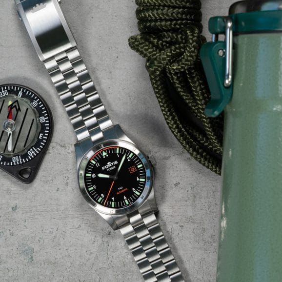 Fortis: F41 am Metallband