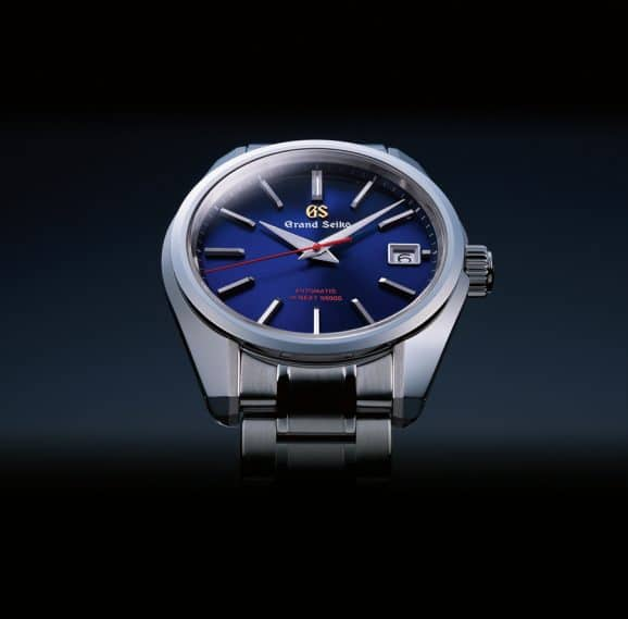 Grand Seiko: SBGH281 Automatik in blau