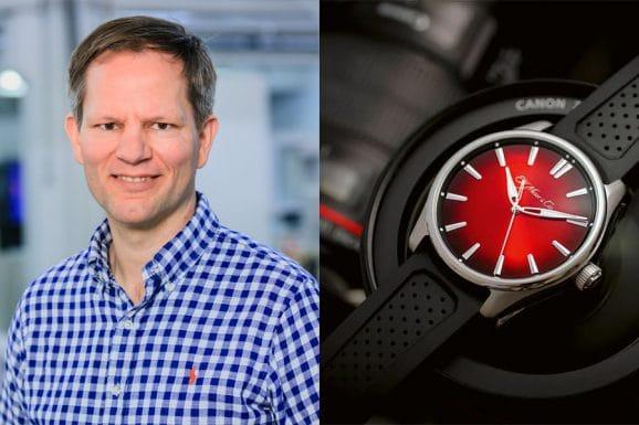 Jens Koch, Redakteur Chronos, wählt die H. Moser & Cie. Pioneer Centre Seconds Swiss Mad Red