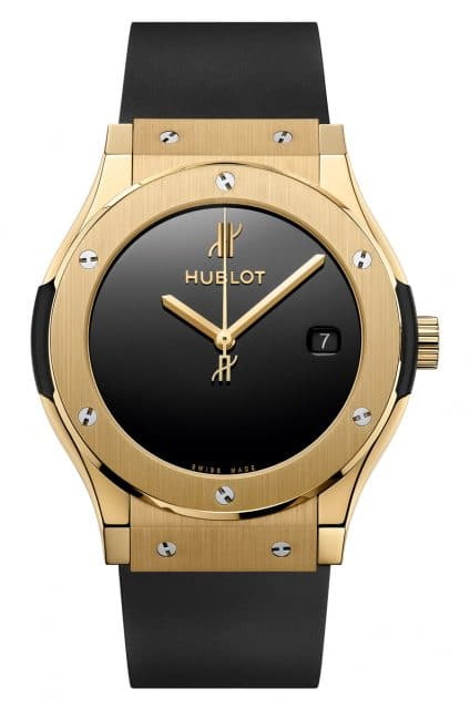 Hublot: Classic Fusion 40 years anniversary in Gelbgold