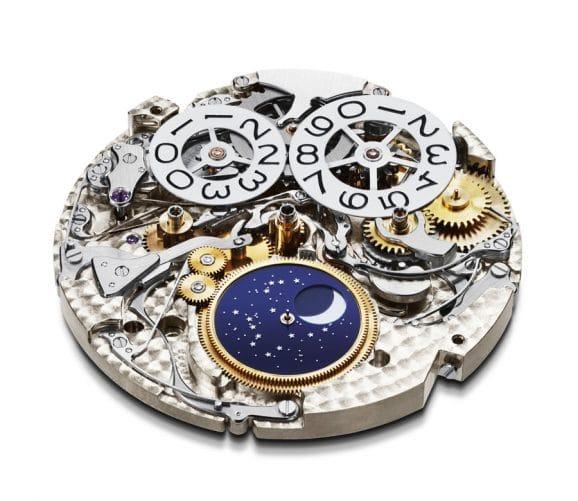 Chopard: Kaliber L.U.C 03.10-L mit Chronograph und ewigem Kalender