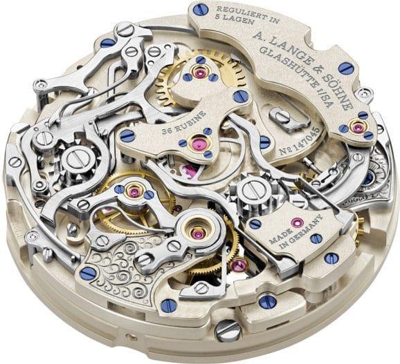 Schleppzeigerchronograph: Kaliber-L101.2 von A. Lange & Söhne