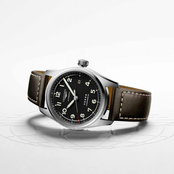Longines: Spirit L3810453 am braunem Lederband