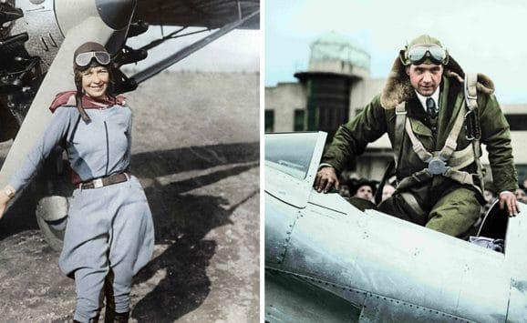 Longines Spirit Pioniere Elinor Smith und Howard Hughes