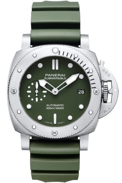 Panerai: Submersible Verde