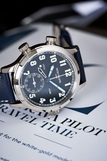 Patek Philippe: Calatrava Pilot Travel Time Referenz 7234G