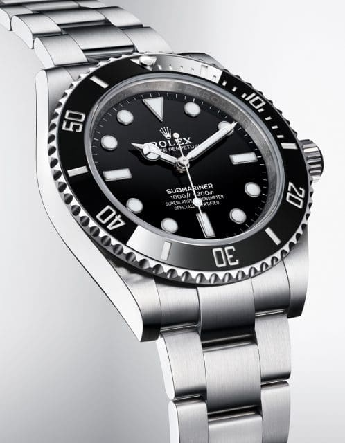 Rolex Oyster Perpetual Submariner ohne Datum Front links