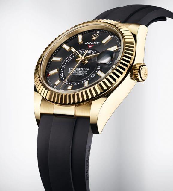 Rolex Sky Dweller Oysterflex