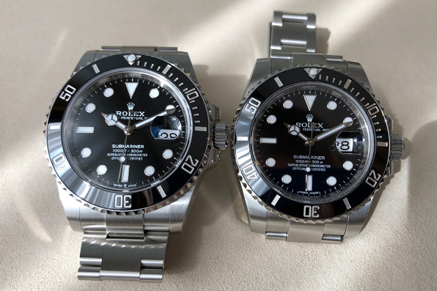 Rolex Submariner 41 schwarzes Zifferblatt