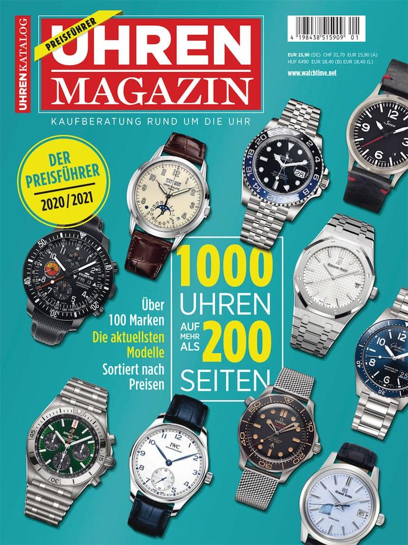 Produkt: Sonderheft UHREN-MAGAZIN Preisführer 2020/2021