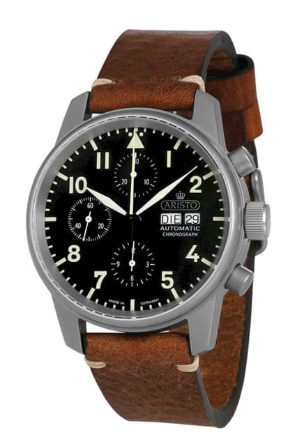 Aristo: Chronograph mit Sellita SW500