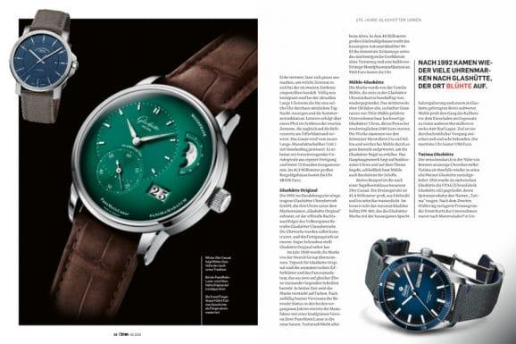 175 Jahre Uhrenbau in Glashütte: Zum Jubiläum zeigt Chronos alle Glashütter Marken mit aktuellen Uhren