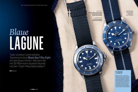 Getestet in Chronos 06.2020: die neue Tudor Black Bay Fifty-Eight Navy Blue