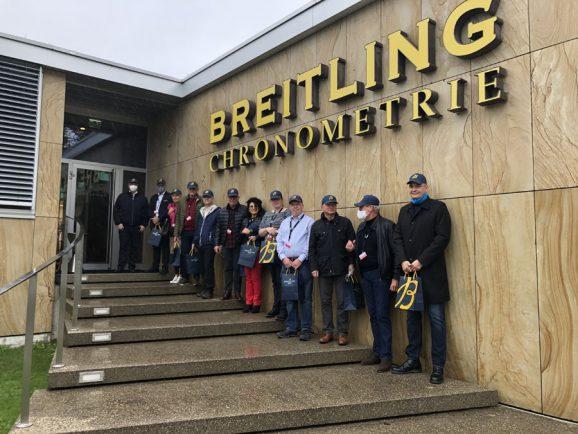 Chronos-Leserreise: Bei unserem letzten Breitling-Besuch 2020