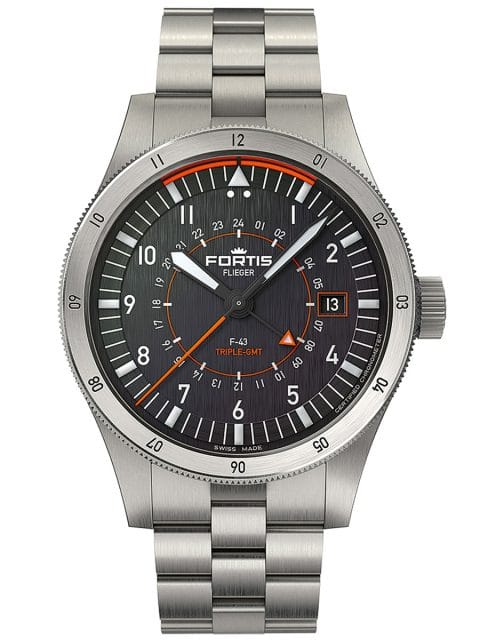 Fortis: F43 Triple GMT