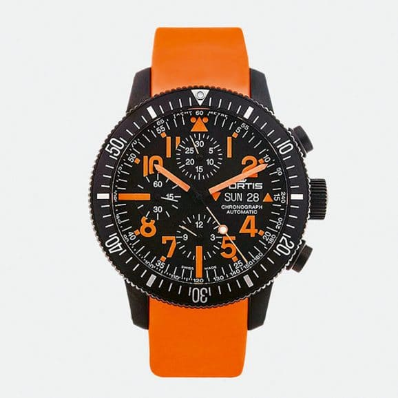 Fortis: Official Cosmonauts Chronograph Mars 500 Edition