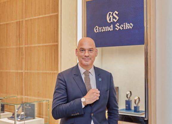 Grand Seiko: Präsident von Grand Seiko Europe: Frédéric Bondoux