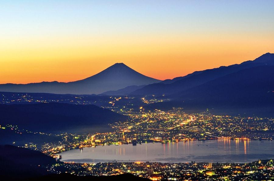 Grand Seiko: Fuji Berg in Japan