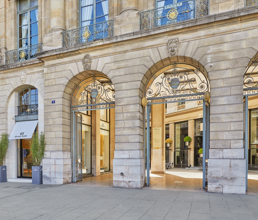 Grand Seiko: Paris Flagship Store von Außen