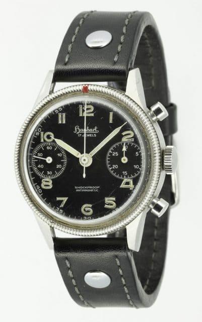 Historisches Vorbild: das Modell 417 aus den fünfziger Jahren diente als erster Flieger-Chronograph der Bundeswehr