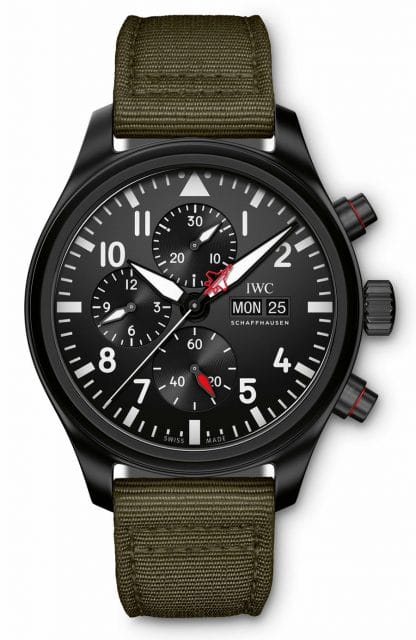 "IWC: Pilot's Watch Chronograph Top Gun Edition ""SFTI"""