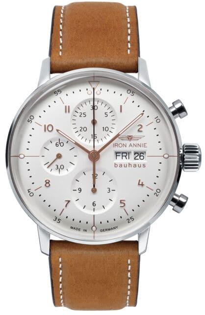 Iron Annie: Bauhaus Automatik Chronograph