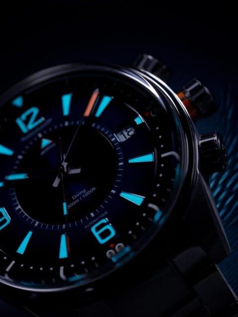 Jaeger-LeCoultre: Polaris Mariner Memovox bei Nacht
