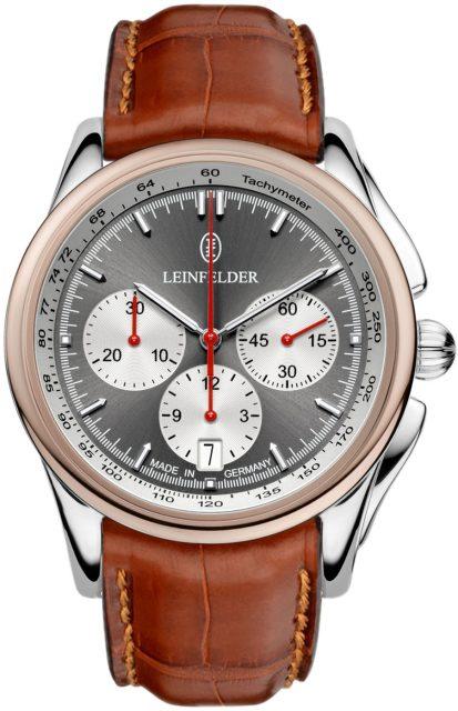 Leinfelder Uhren München: Meridian Chrono Classic mit Bronze Lünette