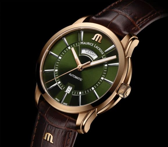 Maurice Lacroix: Pontos Day-Date in Bronze