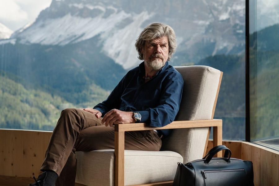 Die neue Uhr ist dem Südtiroler Extrembergsteiger Reinhold Messner gewidmet