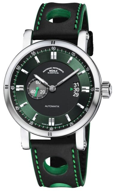 Mühle-Glashütte-Teutonia Sport II in British Racing Green