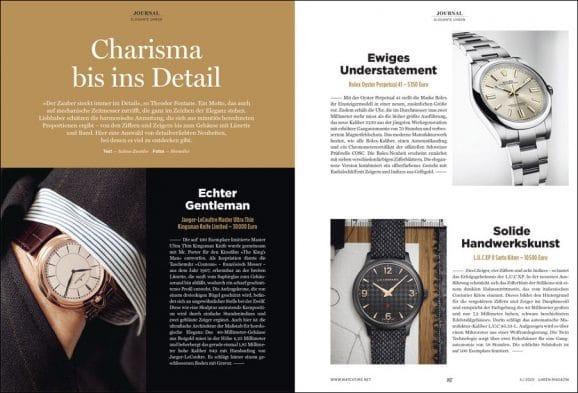UHREN-MAGAZIN-Ausgabe 6/2020: Elegante Uhren