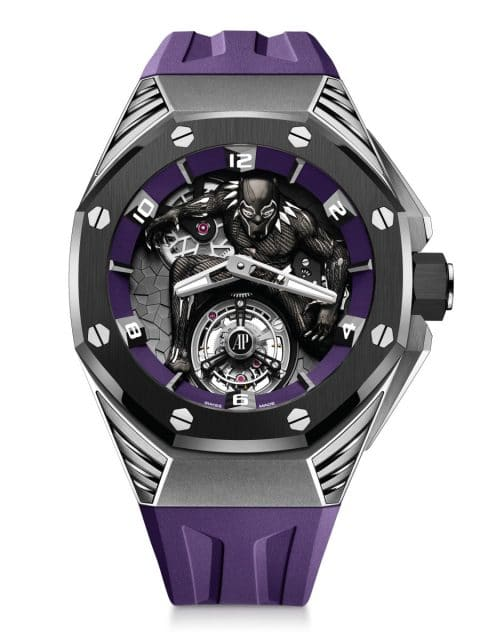 Audemars Piguet: Royal Oak Concept Black Panther Flying Tourbillon