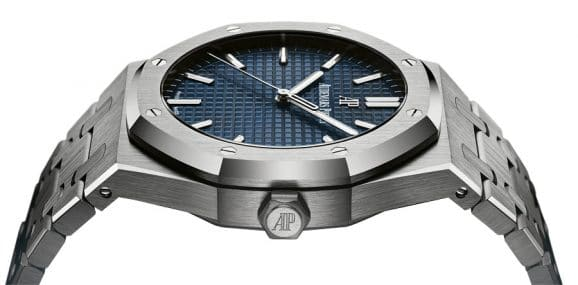 Audermars Piguet: Royal Oak mit blauem Zifferblatt