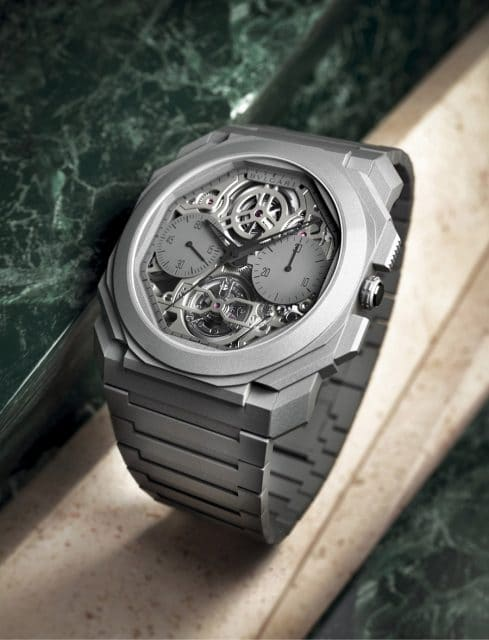 Bulgari: Octo Finissimo Tourbillon Chronograph Skeleton