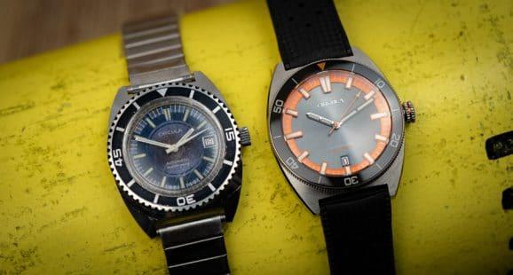Circula: AquaSport zwei Varianten mit Edelstahlarmband und Tropic Rubber-Armband