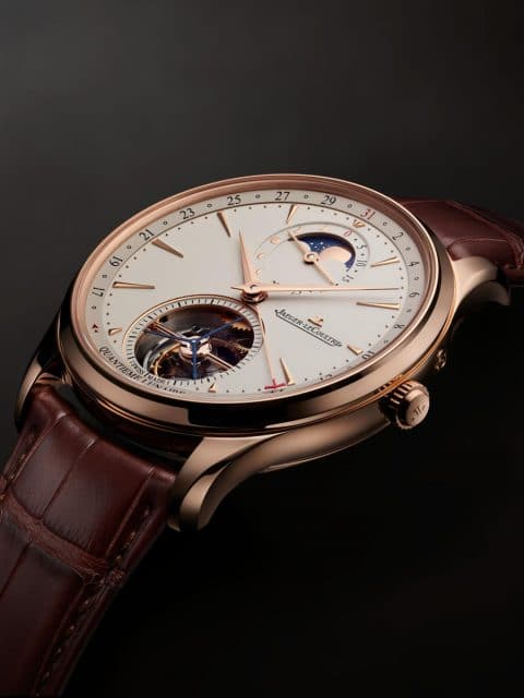 Jaeger-LeCoultre: Master Ultra Thin Tourbillon Moon